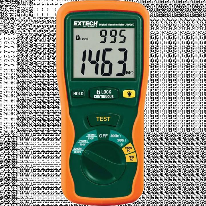 Máy đo điện trở cách điện Extech 380260-NIST