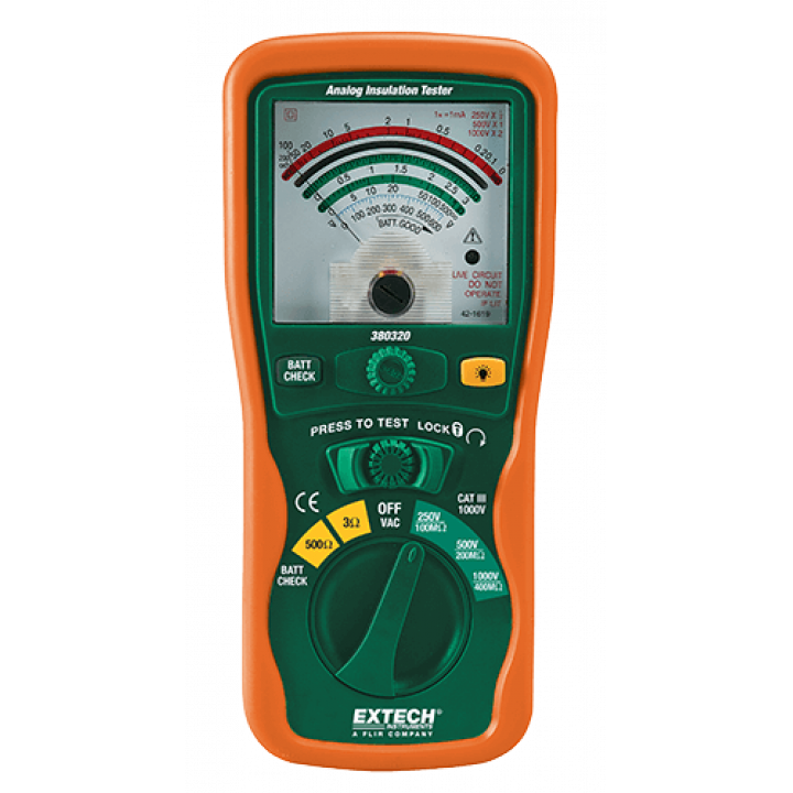 Máy đo điện trở cách điện Extech 380320