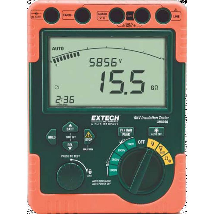 Máy đo điện trở cách điện Extech 380395-NIST