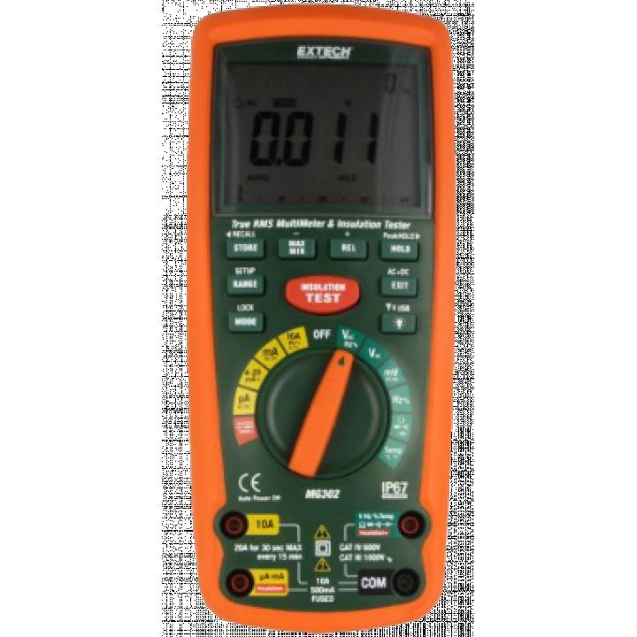 Máy đo điện trở cách điện Extech MG302-NIST