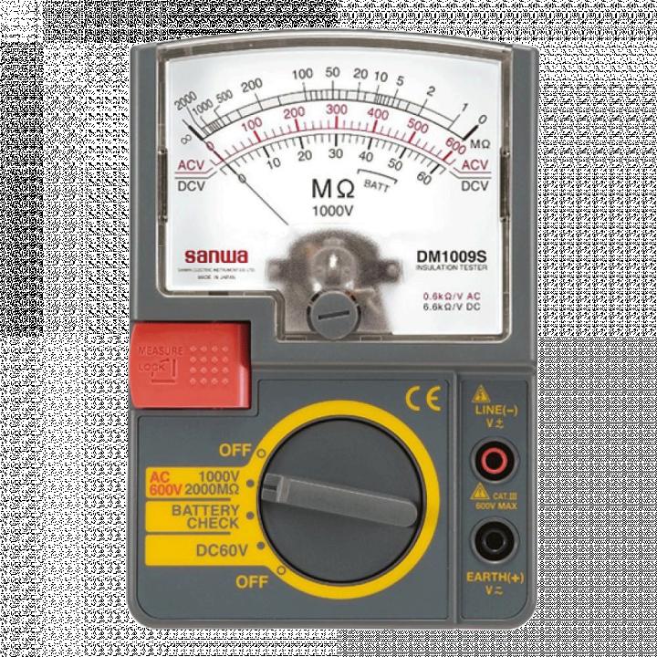 Máy đo điện trở cách điện Sanwa DM1009S