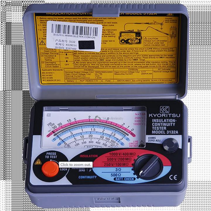 Thiết bị đo điện trở cách điện Kyoritsu 3132A