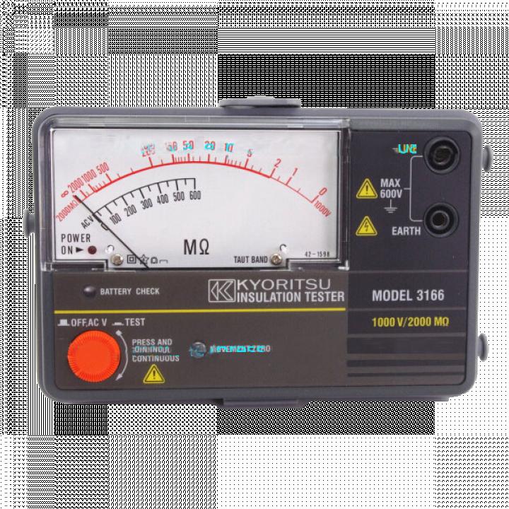 Thiết bị đo điện trở cách điện Kyoritsu 3166