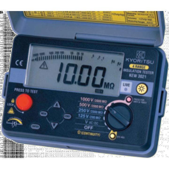 Thiết bị đo điện trở cách điện Kyoritsu 3021