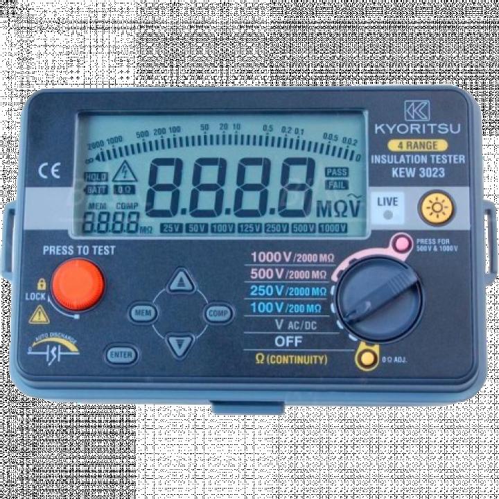 Thiết bị đo điện trở cách điện Kyoritsu 3023