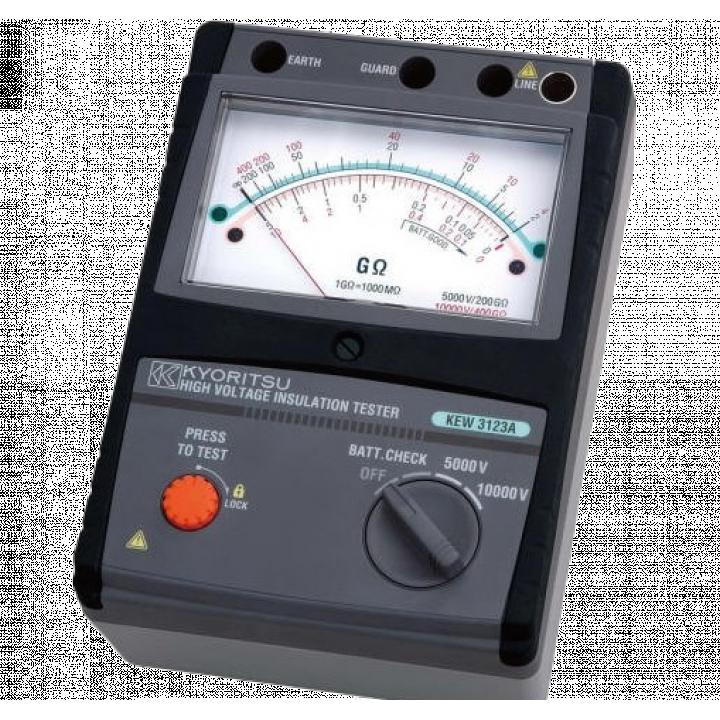 Thiết bị đo điện trở cách điện Kyoritsu 3123A
