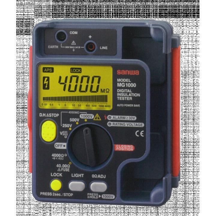 Máy đo điện trở cách điện Sanwa MG1000 Set