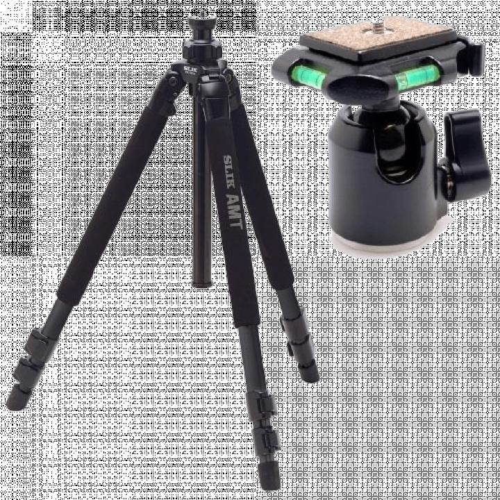Bộ chân máy và đầu ballhead Slik Pro 500 DX + SBH 200 DQ-BK