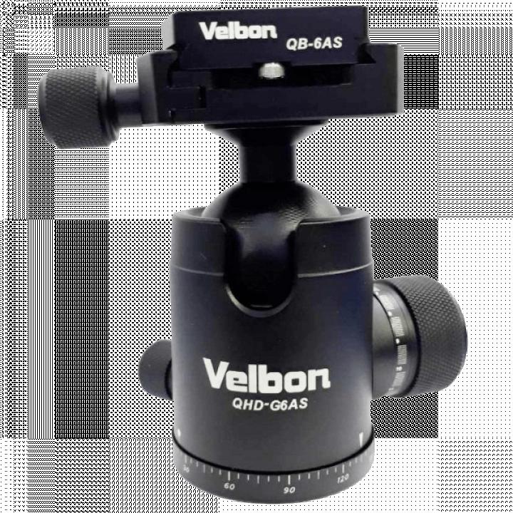 Đầu tripod ballhead Velbon QHD-G6AS