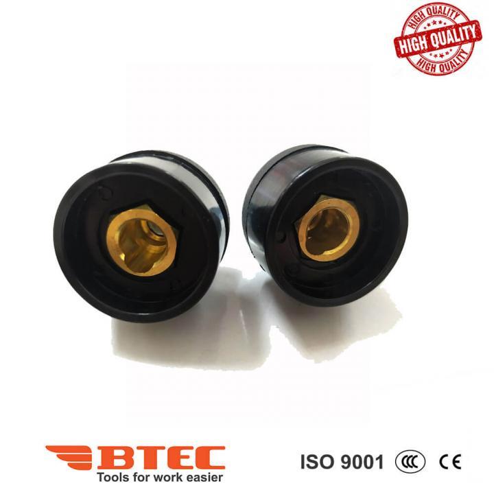 Đầu nối cáp hàn 10-25 âm (-) Btec BT10-25S
