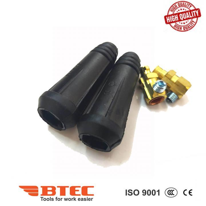 Đầu nối cáp hàn 10-25 dương (+) Btec BT10-25P