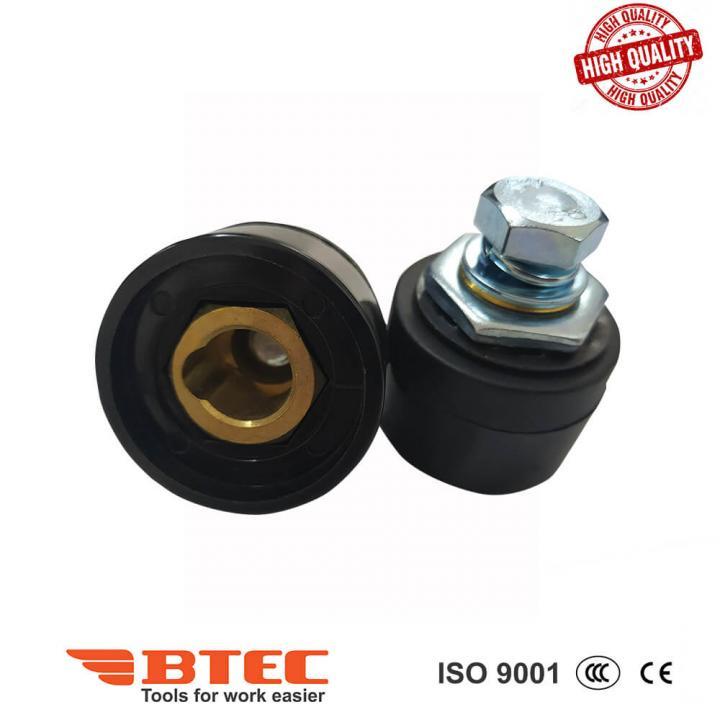 Đầu nối cáp hàn 35-50 âm (-) Btec BT35-50S