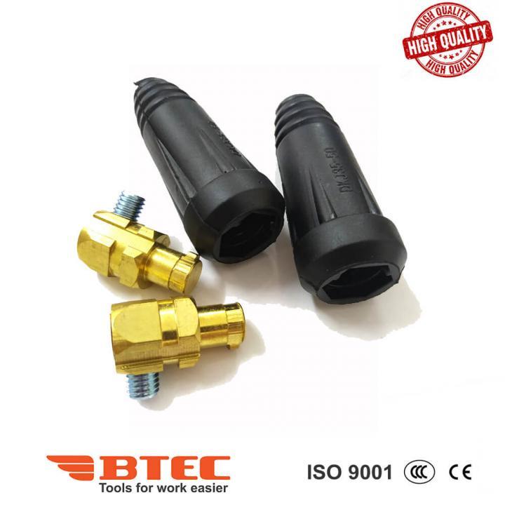 Đầu nối cáp hàn 35-50 dương (+) Btec BT35-50P