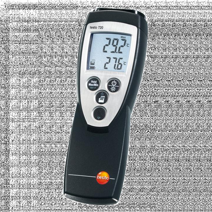 Thiết bị đo nhiệt độ tiếp xúc 1 kênh Testo 720 0560 7207