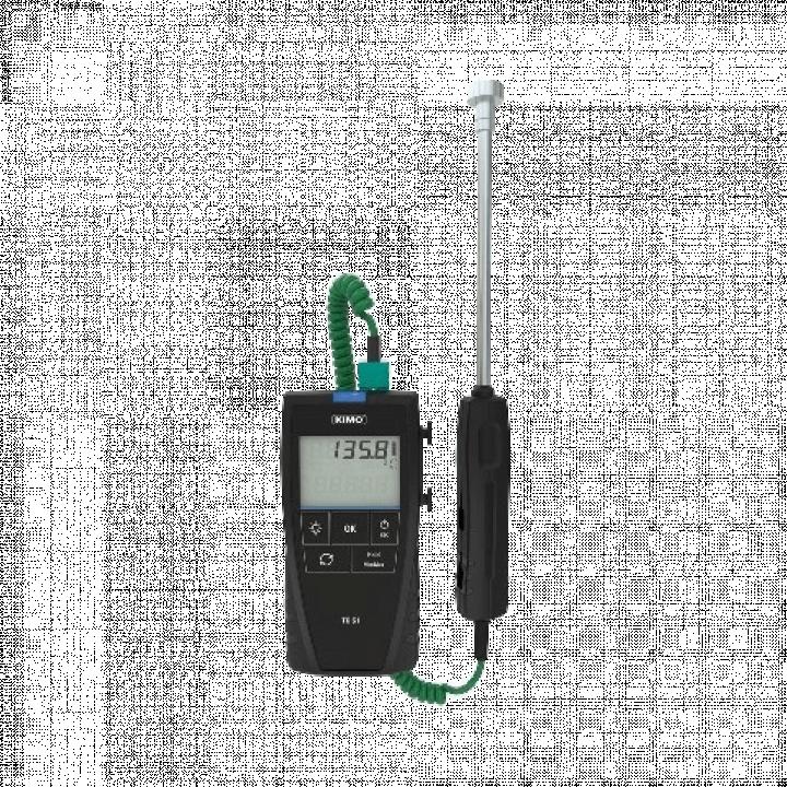 Máy đo nhiệt độ tiếp xúc kiểu K, J, T, S Kimo TK61