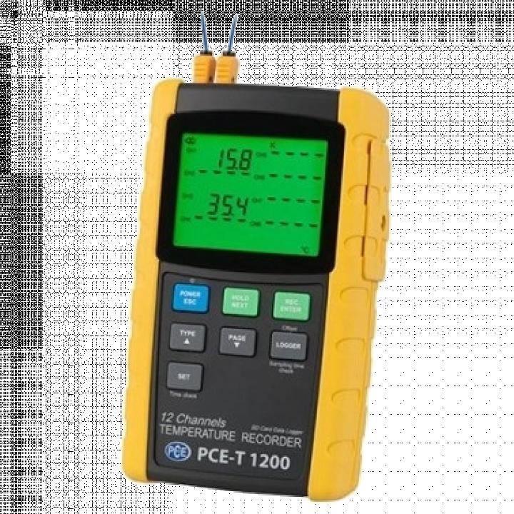 Máy đo nhiệt độ 12 kênh PCE PCE-T1200