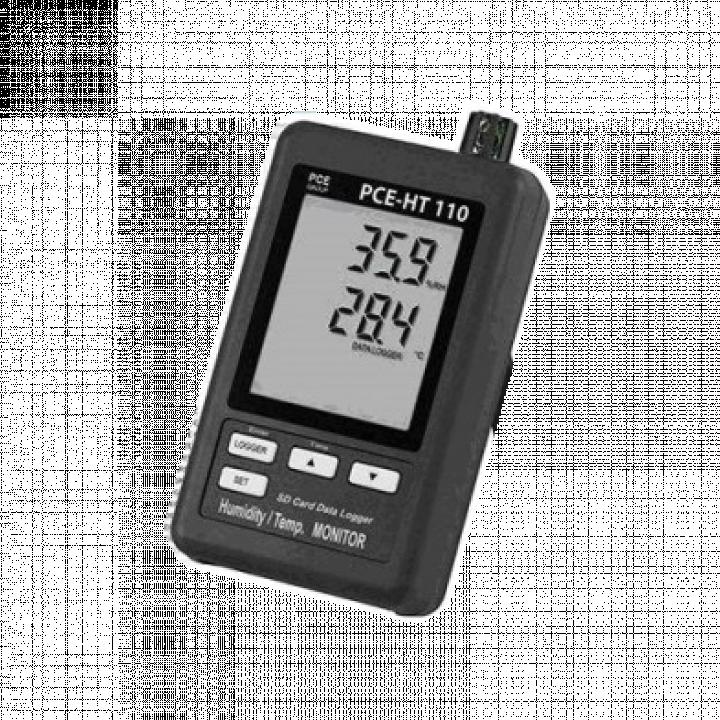 Máy đo nhiệt độ/độ ẩm có lưu dữ liệu PCE PCE-HT110