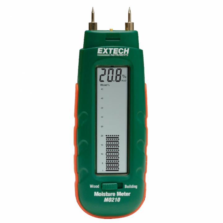 Máy đo độ ẩm vật liệu Extech MO210