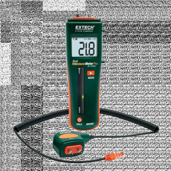 Máy đo độ ẩm vật liệu Extech MO265