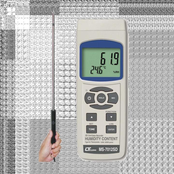 Máy đo độ nhiệt độ, độ ẩm Lutron MS-7012SD
