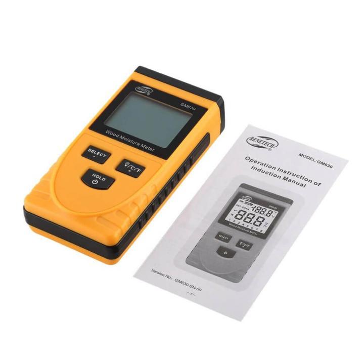 Máy đo độ ẩm gỗ BENETECH GM630
