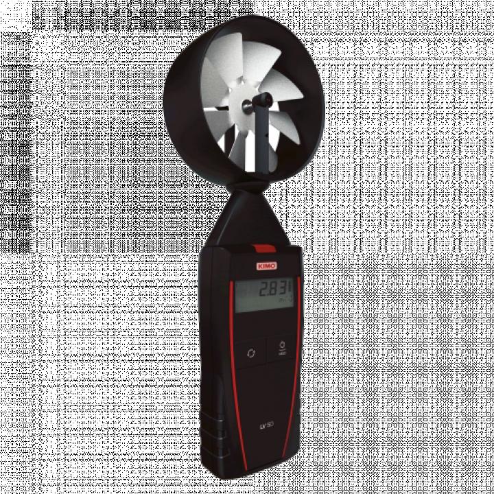 Máy đo tốc độ gió và nhiệt độ Kimo LV 50 24608