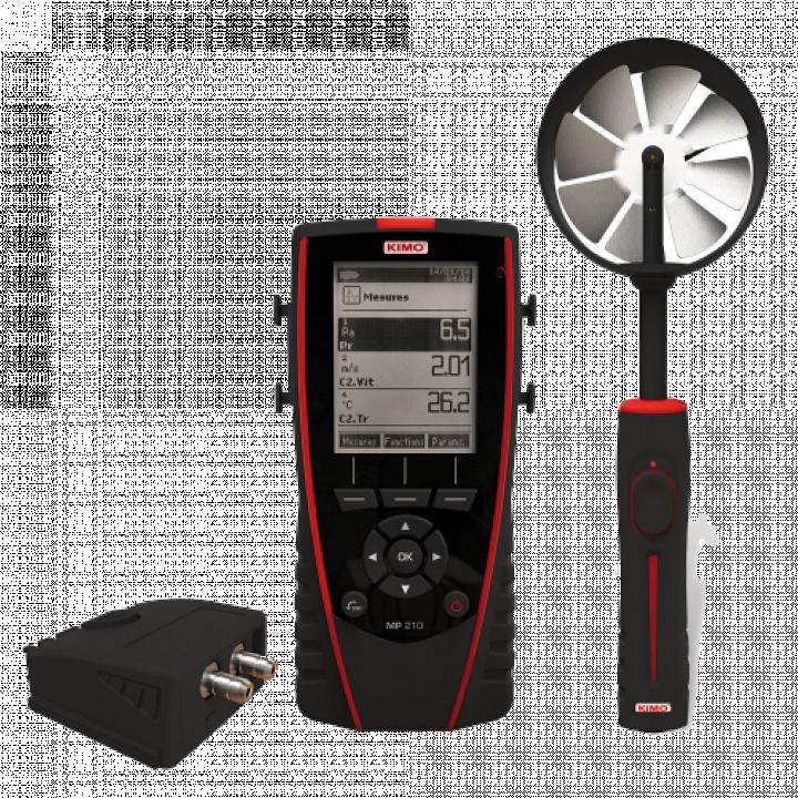 Máy đo tốc độ gió Kimo MP 210 24730