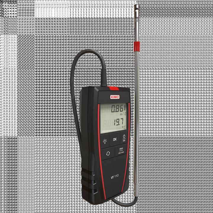 Máy đo tốc độ gió và nhiệt độ Kimo VT 110 24714