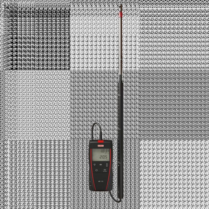 Máy đo tốc độ gió và nhiệt độ Kimo VT 115 24723
