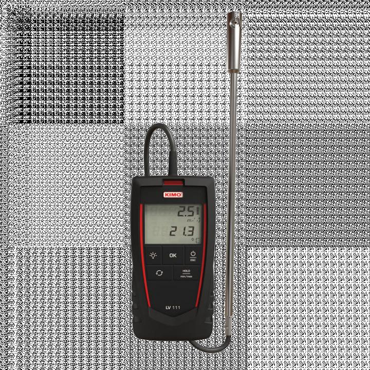 Máy đo tốc độ gió và nhiệt độ Kimo LV 111 24724