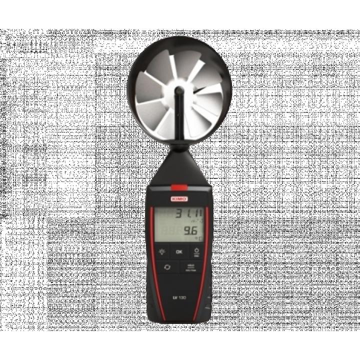 Máy đo tốc độ gió và nhiệt độ Kimo LV 130 24717