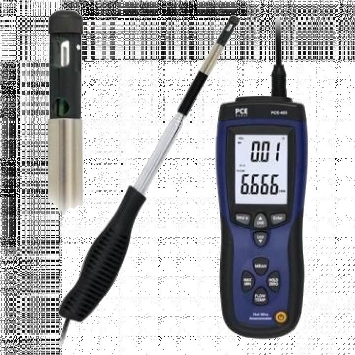 Máy đo tốc độ gió trong đường ống PCE PCE-423
