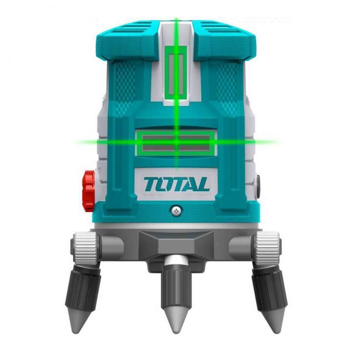 Máy cân mực 5 tia laser xanh Total TLL305205 (tia xanh)