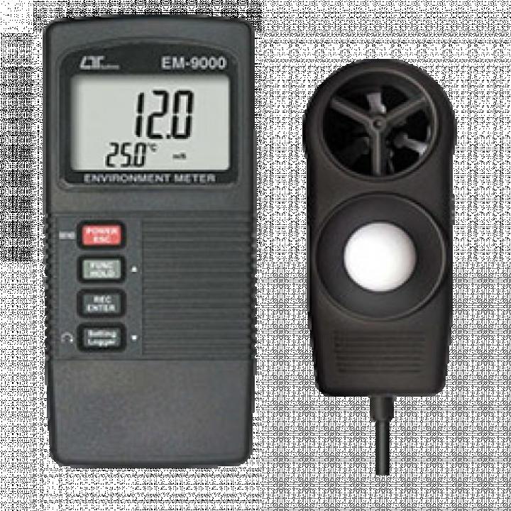 Máy đo đa năng 4 trong 1 Lutron EM-9000