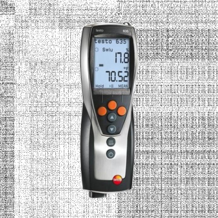 Máy đo nhiệt độ, độ ẩm, áp suất Testo 635-1 0560 6351