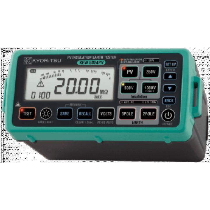 Thiết bị đo nhiều chức năng (Thông mạch,mạch vòng, test điện trở đất….) Kyoritsu 6024PV