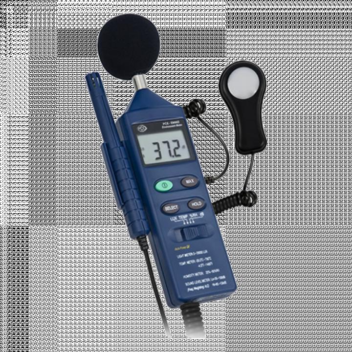 Máy đo ánh sáng,độ ồn, độ ẩm, nhiệt độ PCE EM 882
