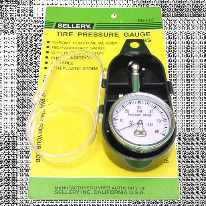 Đồng hồ đo áp suất khí nén 60lbs/4.2kg Sellery 56-602