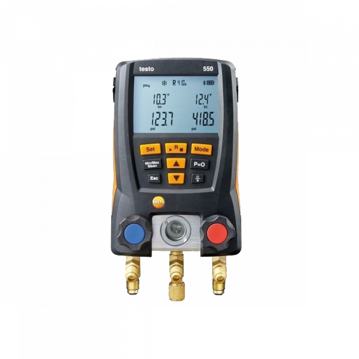 Máy đo áp suất điện lạnh Testo 550 0563 1550