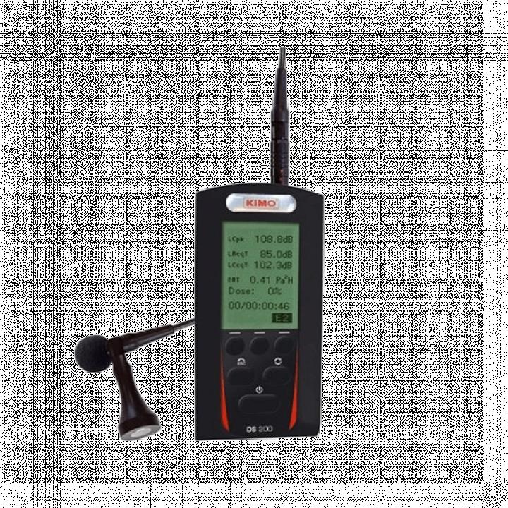 Máy đo độ ồn cá nhân - classe 2 Kimo DS 200