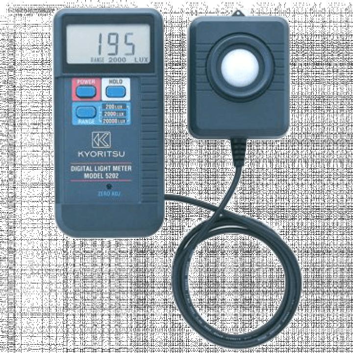 Thiết bị đo cường độ ánh sáng Kyoritsu 5202