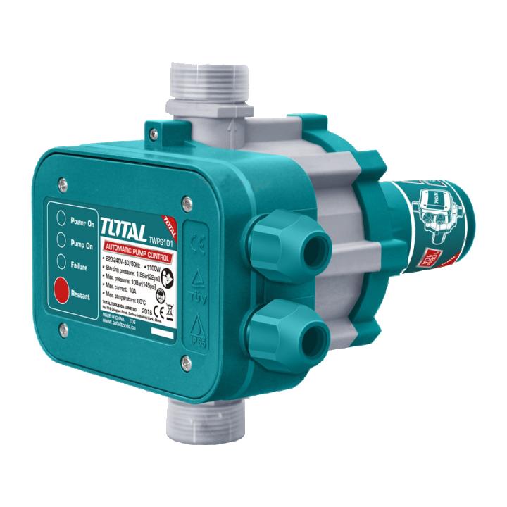 Máy bơm nước tự động bằng áp suất Total TWPS101