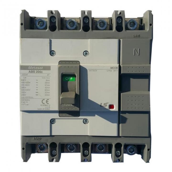 Cầu dao tự động (aptomat) MCCB LS ABS204c 150A