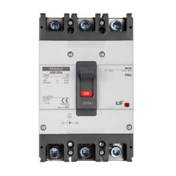 Cầu dao chỉnh dòng (aptomat) MCCB LS ABS203c FMU 250A