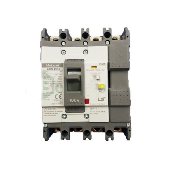 Cầu dao điện chống giật (aptomat) ELCB LS EBN104c 100A