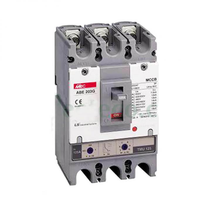 Cầu dao chỉnh dòng (aptomat) MCCB LS ABE 103G 80A
