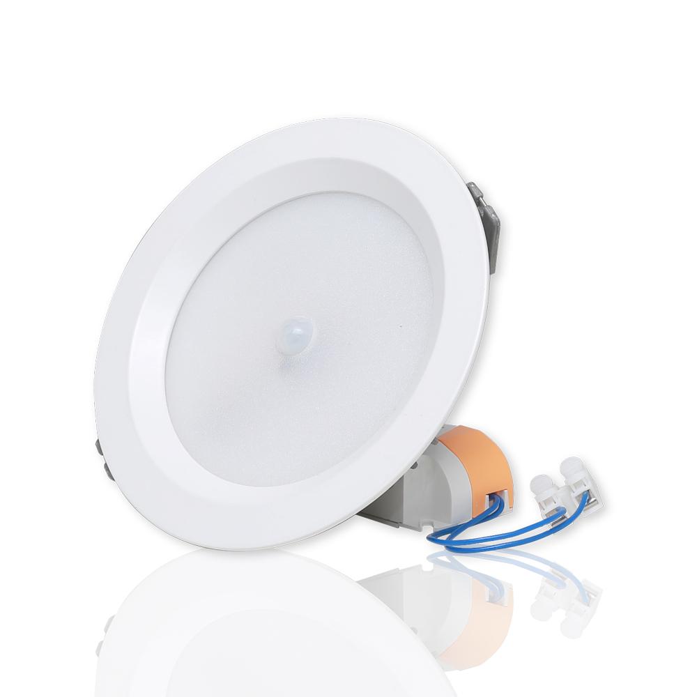 Đèn LED Âm trần Downlight Cảm biến 9W
