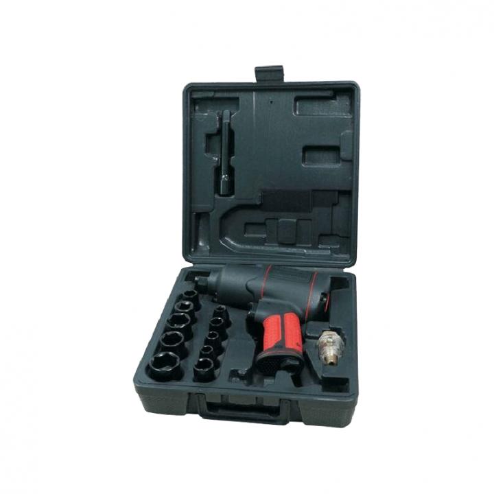 Bộ dụng cụ súng xiết mở ốc bu lông Aeropro (17 món) AP17808-A