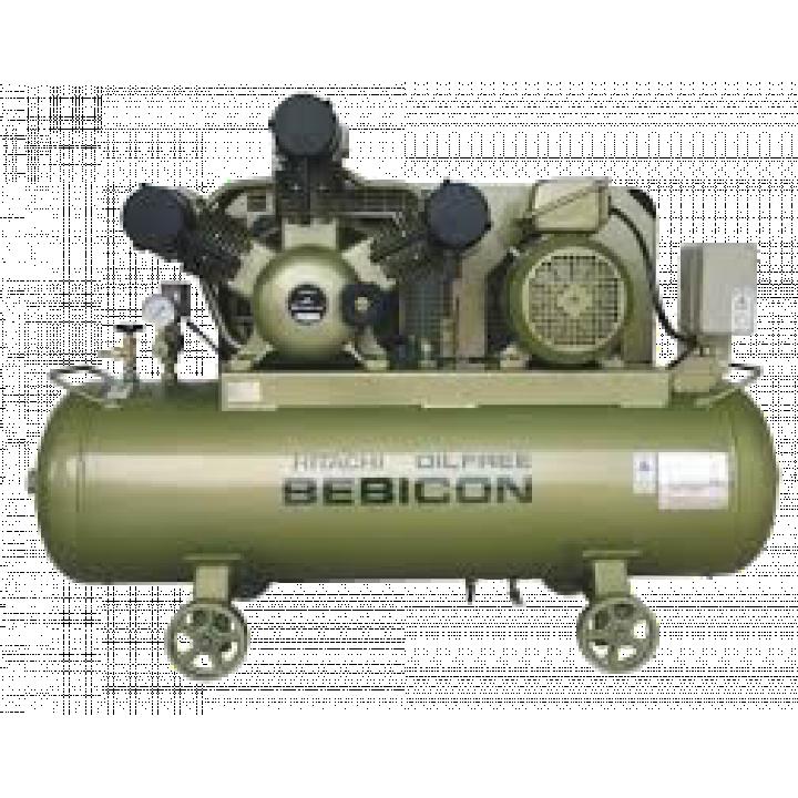 Máy nén khí không dầu Hitachi Bebicon 0.4LE-8S5A