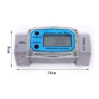 Đồng hồ đo lưu lượng điện tử bằng nhôm LG1017E